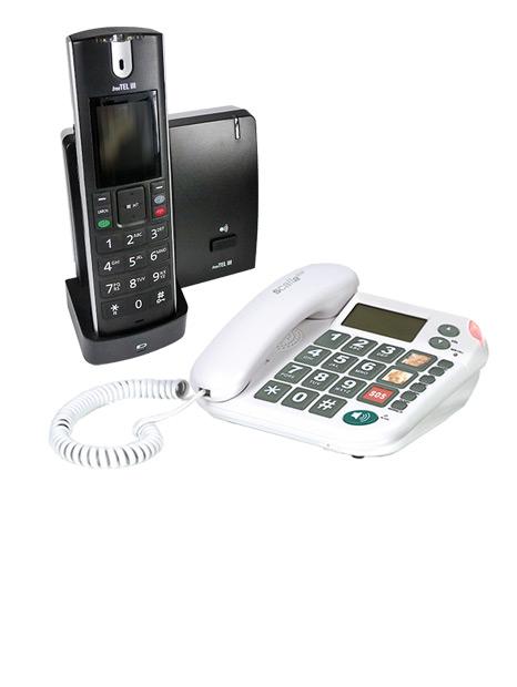 Telefone für Schwerhörige