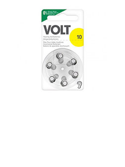 Volt Hörgerätebatterien Größe 10